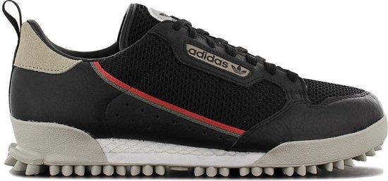 adidas Originals Continental 80 BAARA - Heren Sneakers Sport Casual Schoenen Zwart EF6770 - Maat EU 40 UK 6.5