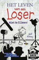 Boek cover Het leven van een loser  -   Niet te filmen! van Jeff Kinney (Hardcover)