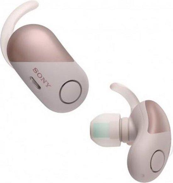 Sony WF-SP700N - True Wireless sportoordopjes met Noise Cancelling - Wit