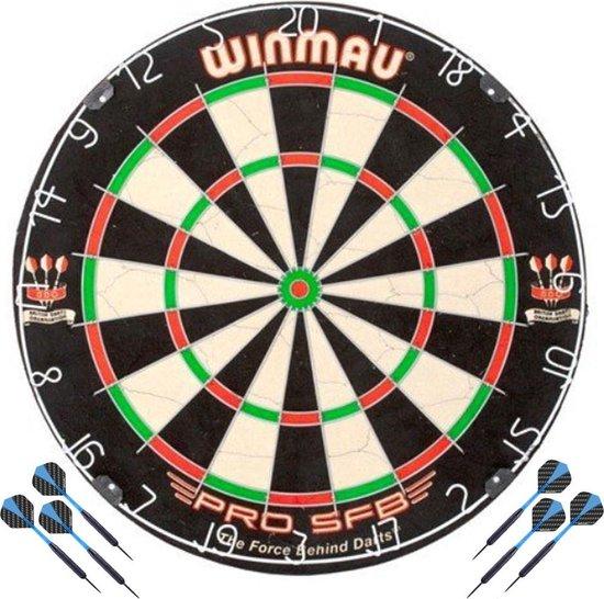 Afbeelding van het spel Winmau Pro SFB incl 2 sets Dartpijlen