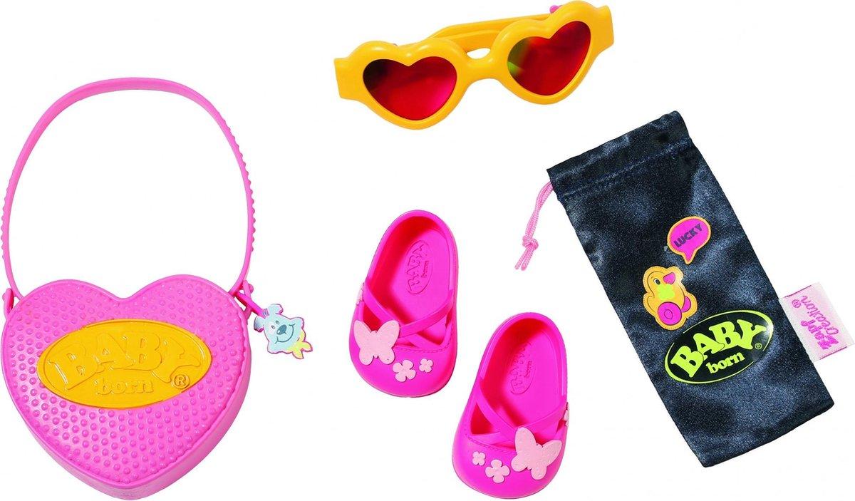 Baby Born Accessoireset Boutique 43 Cm Roze/geel