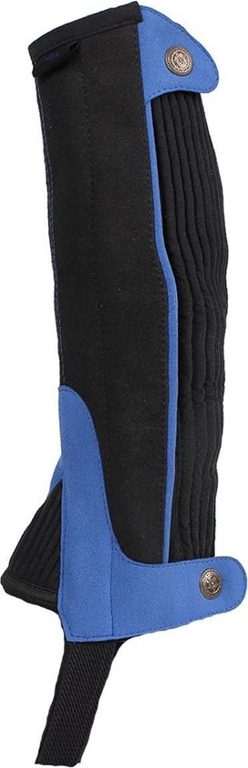 Qhp Minichaps  Suede Kids - Black-blue - 10
