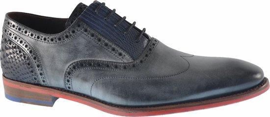 Floris Van Bommel Heren Nette schoenen 19062 - Grijs - Maat 41+