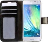 PU Leren Samsung Galaxy S4 Wallet Case, Stijlvolle Telefoonhoes, zwart , merk i12Cover