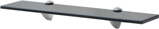 vidaXL Zwevend schap 50x10 cm 8 mm glas