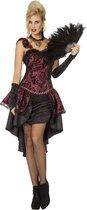 Sexy burlesque kostuum voor vrouwen - Verkleedkleding