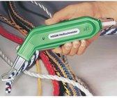 De HSGM touwsnijder met punt ideaal voor snijden van klimtouw