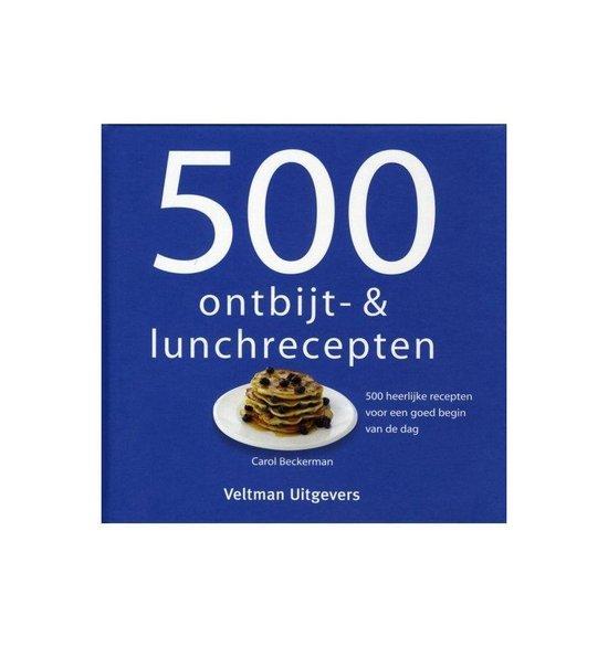Boek cover 500 ontbijt- en lunchrecepten van Carol Beckerman (Hardcover)