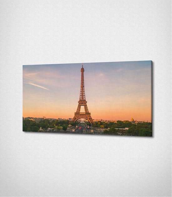 Paris - Eiffel Tower Canvas
