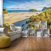 Fotobehang Sunrise Beach | V4 - 254cm x 184cm | 130gr/m2 Vlies