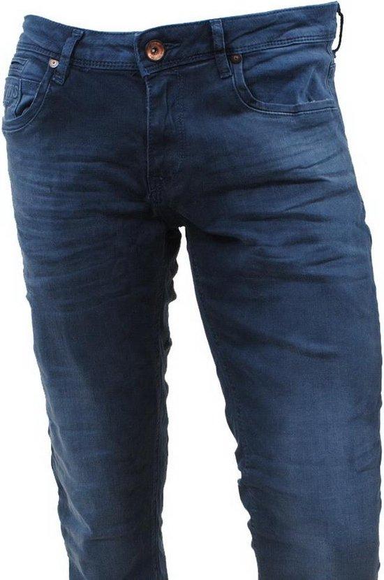 Cars Jeans - Heren Slim Fit Stretch Lengte 34 Blast Dallas Blue