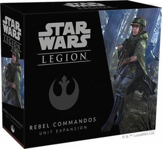 Afbeelding van het spel Star Wars Legion: Rebel Commandos Unit Expansion