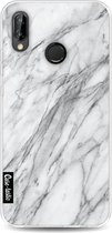 Huawei P20 Lite hoesje Marble Contrast Casetastic Smartphone Hoesje softcover case
