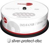 Primeon 2761203 4.7GB DVD-R 25stuk(s) lege dvd