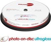 Primeon 2761316 25GB BD-R Lees/schrijf blu-ray disc