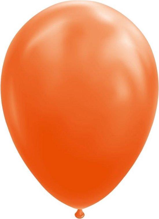 Wefiesta Ballonnen 30 Cm Latex Oranje 25 Stuks