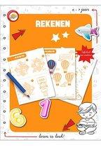 Toy Universe Educatief Boek Rekenen Junior Oranje