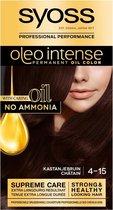 -SYOSS Color Oleo Intense 4-15 Kastanjebruin haarverf - 1 stuk-aanbieding