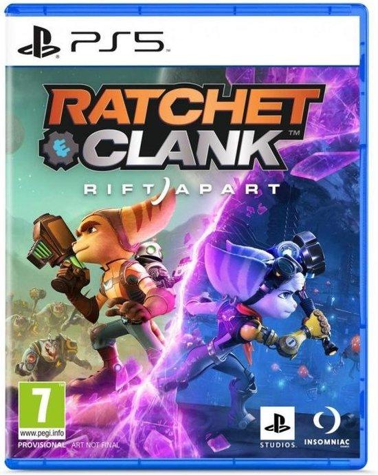 Cover van de game Ratchet & Clank: Rift Apart - PS5
