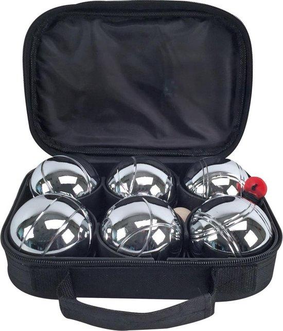 Afbeelding van het spel Alert Metalen Jeu De Boules Set met 6 Ballen