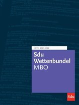 Educatieve wettenverzameling  -  Sdu Wettenbundel MBO 2021-2022