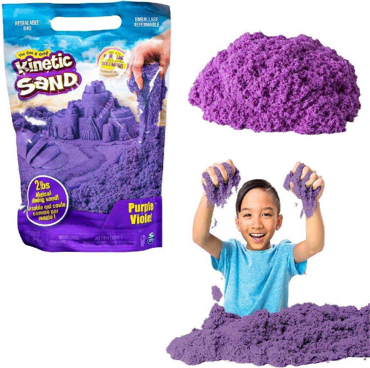 Kinetic Sand Colour Bag Purple 907gr