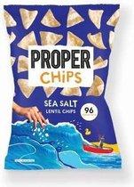 Proper (20g x 24) Sea salt Lentil chips