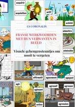 Franse werkwoorden met hun verwanten in beeld