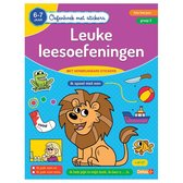 Oefenboek met stickers  -  Leuke leesoefeningen 6-7 jaar - 1ste leerjaar - groep 3