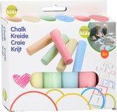 Topwrite Kids - Stoepkrijt - Staaf - 6dlg