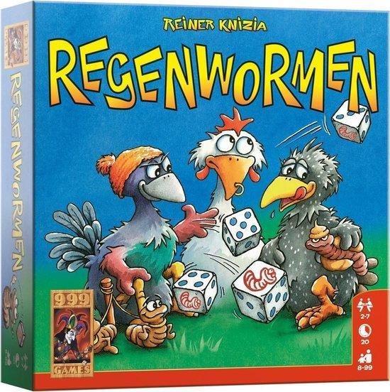 Afbeelding van het spel Regenwormen - Dobbelspel