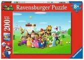 Ravensburger puzzel Super Mario - Legpuzzel - 200 XXL stukjes