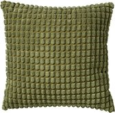 Dutch Decor ROME - Sierkussen uni Calliste Green 45x45 cm