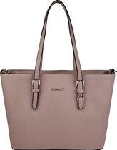 Flora & Co Shoulder Bag Saffiano Rosé