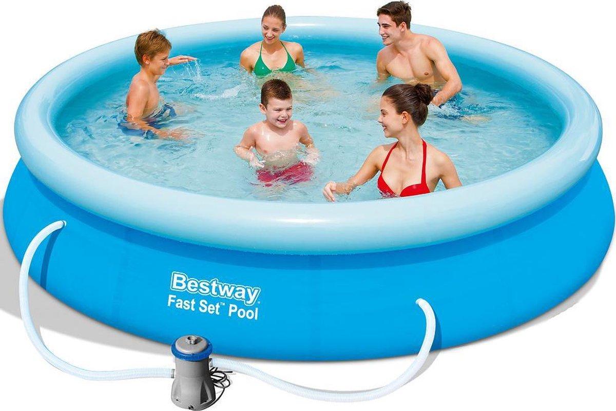 Bestway Fast Set (Ø366 x 76cm) - Opblaasbaarzwembad