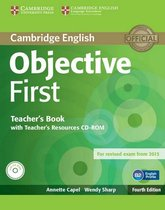 Objective First - 4th edition teacher's book + resource cd-r