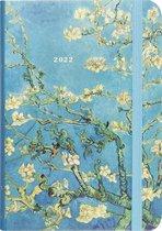 Peter Pauper - compacte agenda - 16 maanden 2021/ 2022 - Almond blossoms