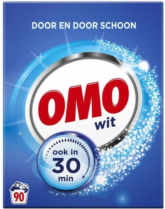 Omo Wit Waspoeder - 90 wasbeurten - 5,13 kg - Wasmiddel