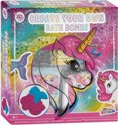 Maak je eigen bruisballen - Unicorn bath bombs - experimenteerset - bruisballen - Grafix