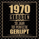 1970 Geboren 50 Jaar Tot Perfectie Gerijpt