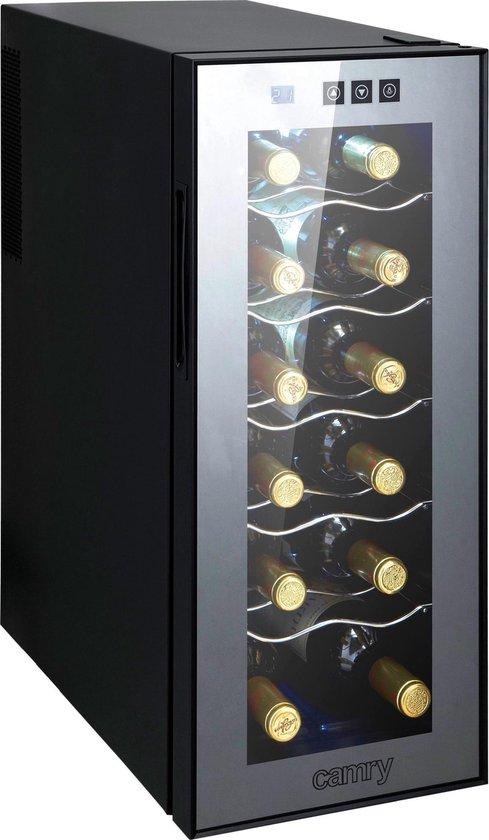 Koelkast: Camry CR 8068 -  Wijnkoelkast  - 12 flessen, van het merk Camry