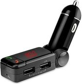 MMOBIEL Bluetooth Handsfree Carkit - FM Transmitter - 2 USB Poorten