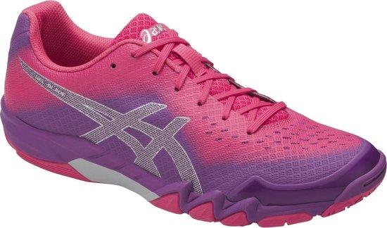 | Asics Gel Blade 6 roze paars indoor schoenen dames