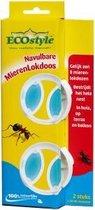 ECOstyle Navulbare MierenLokdoos - tegen mieren - 2 stuks