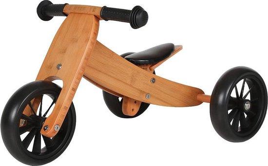Bandits and Angels Smart bike 4in1 - Loopfiets - Bamboe