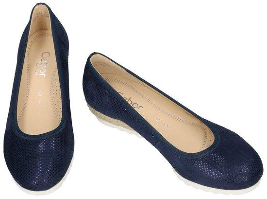 Gabor -dames - Blauw Donker Ballerina's Maat 38½ pJRRxn