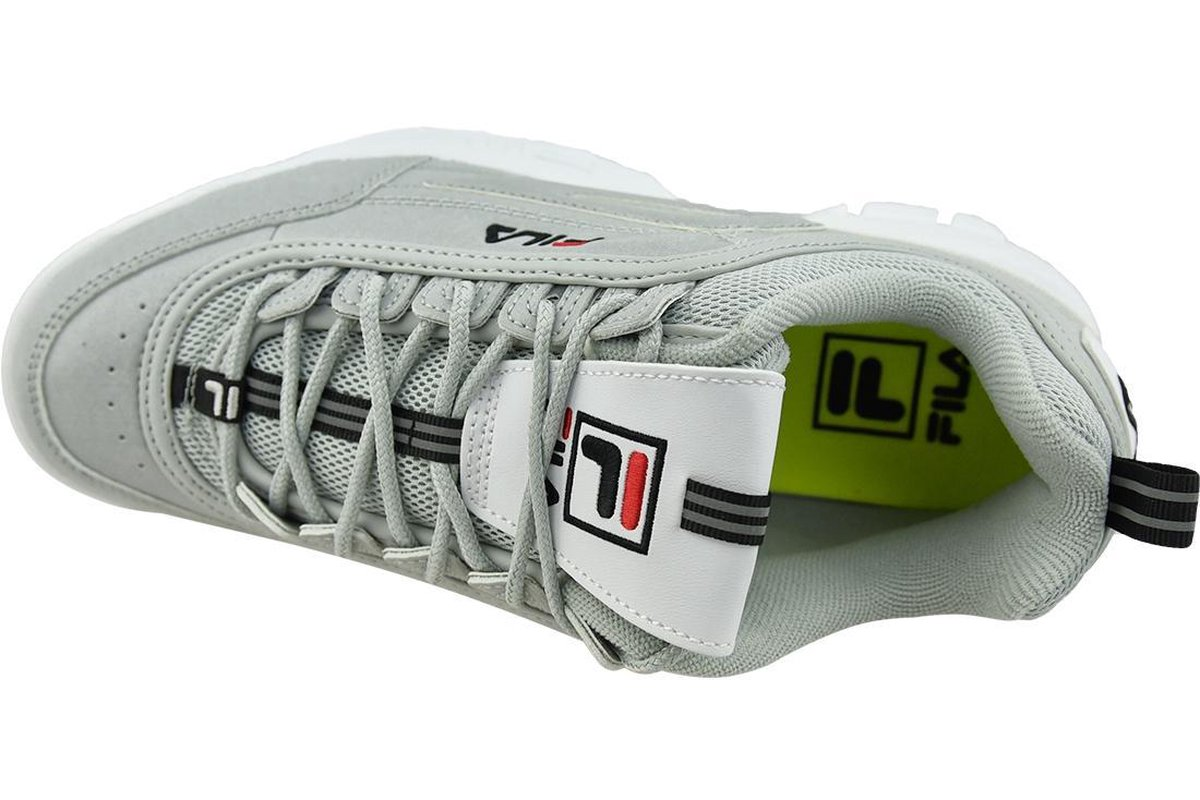 Fila Disruptor R 1010908 13T, Mannen, Grijs, Sneakers maat: 42 EU