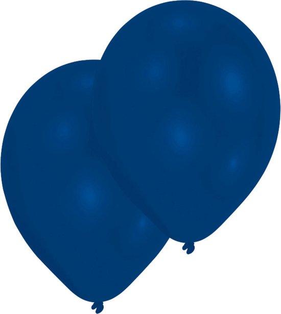 Amscan Ballonnen Donkerblauw 27,5 Cm 25 Stuks