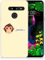 LG G8 Thinq Telefoonhoesje met Naam Monkey