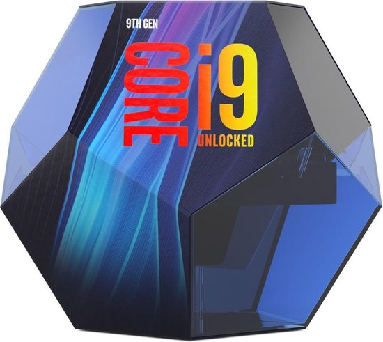 Intel Core i9-9900K processor 3,6 GHz Box 16 MB Smart Cache
